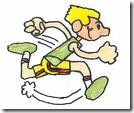run cartoon