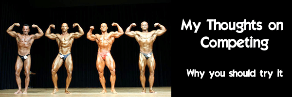 Why do a bodybuilding competition