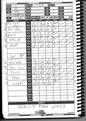 fitness workout fitness workout log book