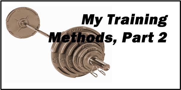 weight training methods