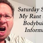 bodybuilding rant