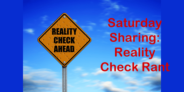 how to give yourself a reality check