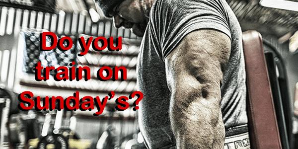 Do You Train on Sunday?