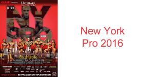 New York Pro 2016