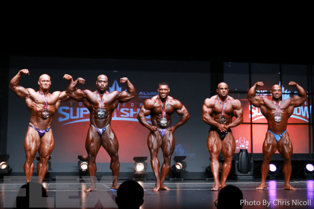Top 5 at the Toronto Pro